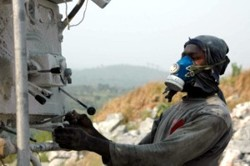 GBS is to strengthen conducive conditions for the private sector (photo: Peabo quarry, Ghana)