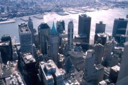 Private banks (here: Financial District of New York) oppose insolvency procedures for sovereign debt